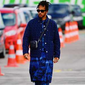 Lewis Hamilton wearing a kilt is worthy of your attention