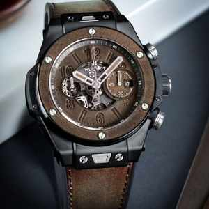Why a leather Hublot Big Bang is the watch you never knew you needed