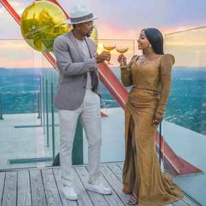Boity to Maps Maponyane: 'Happy birthday to one of the brightest lights in my life'