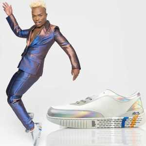 The wait is finally over: New sneaker collection unveiled with Somizi Mhlongo-Motaung