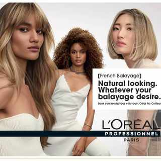 The race for the L'Oréal Style & Colour Trophy is on