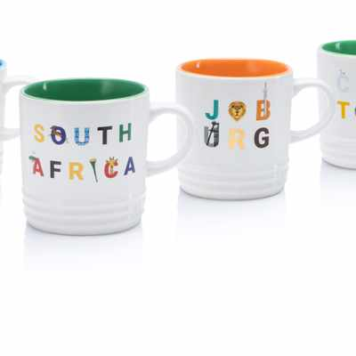 Le Creuset's new line of Destination Mugs celebrates South African cities