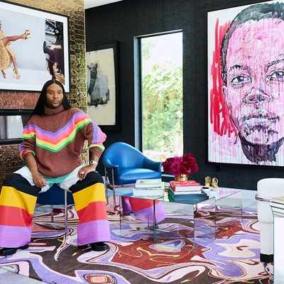 Step Inside the Los Angeles Home of Celebrity Super-Stylist Law Roach