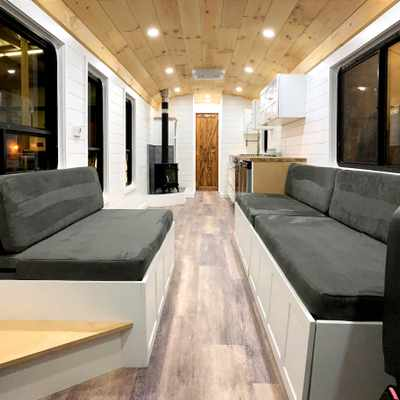 The road less travelled for homeownership: A converted, one-of-a-kind school bus