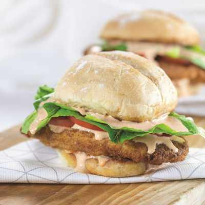 Warm up your nights with a Spicy fried chicken sandwich