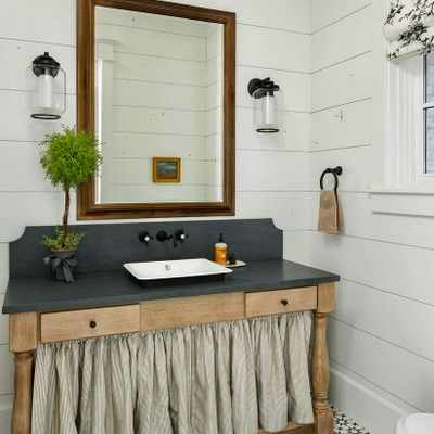 Why you need to DIY a skirted bathroom vanity stat