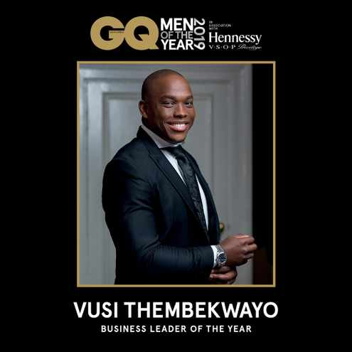 Business leader of the Year: Vusi Thembekwayo