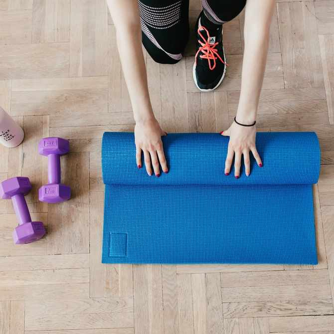 7 quiet workout tips so you can exercise at home without infuriating your neighbours