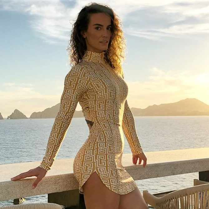 Celebrity trainer Senada Greca explains why you should never stop challenging yourself at the gym