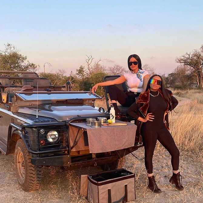 Five reasons why we would watch a Bonang and Pinky Girl travel show