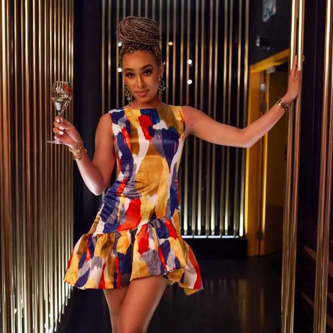 Here are some of our favourite looks from the G.H. MUMM Champagne Day Celebration