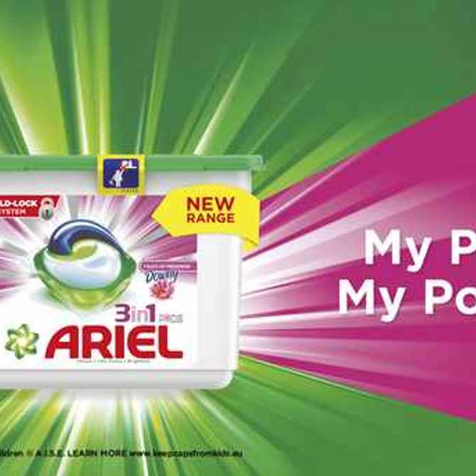 How to dose Ariel 3in1 PODS