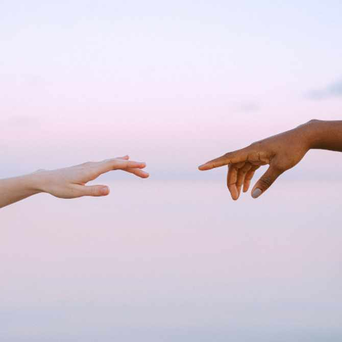 Human touch is shown to be vital for mental health. Here's how to take care of yourself while social distancing...