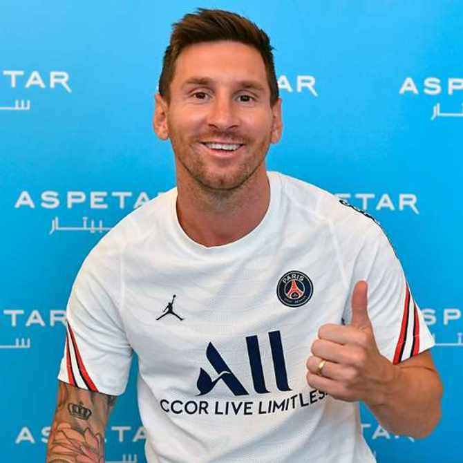 'I am excited to begin a new chapter of my career' says Lionel Messi after joining PSG