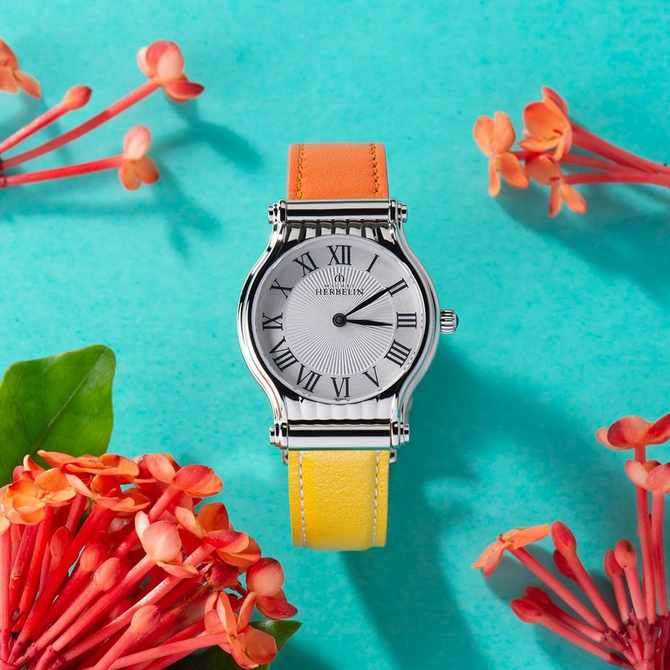 Michel Herbelin's new Antarès watch collection makes elegance playful and fun