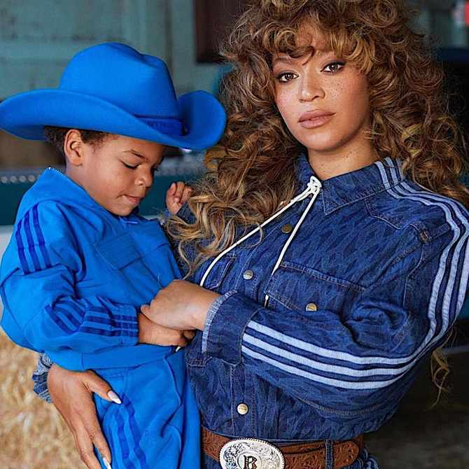 SEE: Beyoncé loves to co-ordinate her outfits with her kids on vacation
