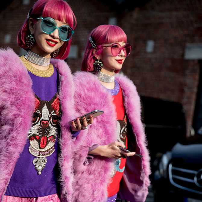 Street-style approved ways of wearing pink without looking like a princess