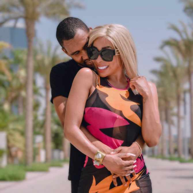 """Twitter reacts to Khanyi Mbau's viral """"leave the man in Dubai"""" dance"""