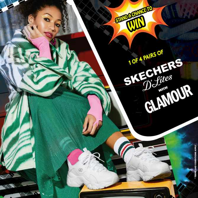 Win a pair of Skechers D'Lites with GLAMOUR!