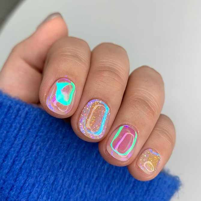 Aurora nails are the next big thing in Instagram-friendly manicures