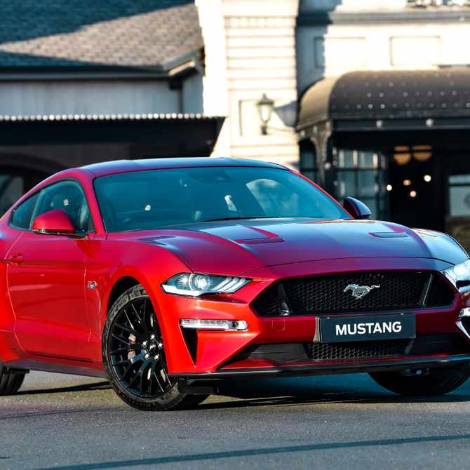 Ford celebrates global Mustang day