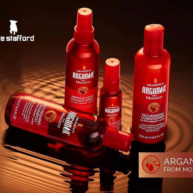 Introducing Lee Stafford Argan Oil from Morocco