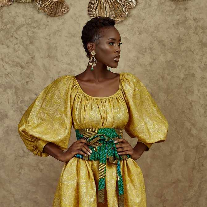 Pan-African Creatives: The Ghanaian womenswear designer reigniting women's love affair with clothes even in a pandemic