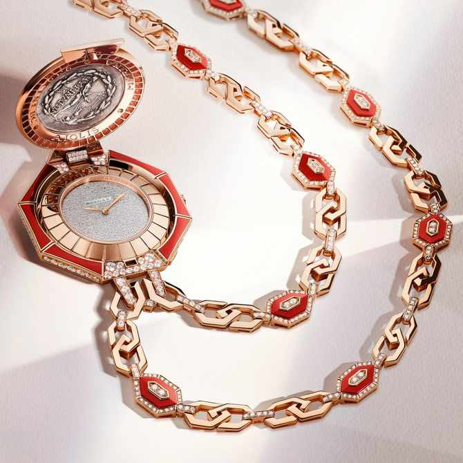Bvlgari drops 4 luxe time pieces