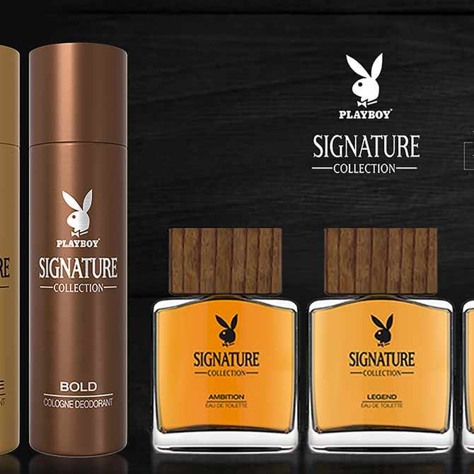 Playboy launches EDT collection signature line