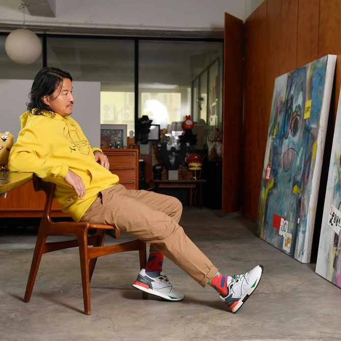 Q&A: Artist Michael Lau on his latest collab