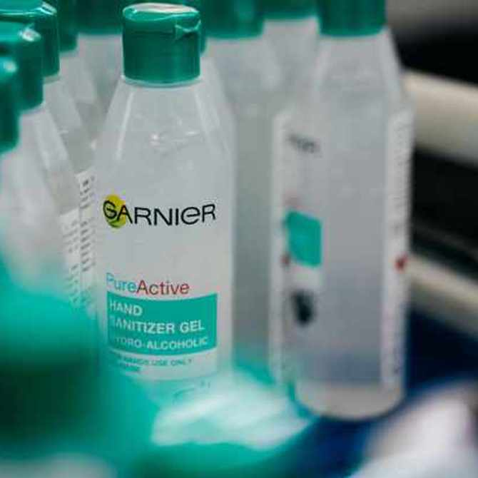 L'Oréal South Africa produces hand sanitisers to fight the spread of COVID-19