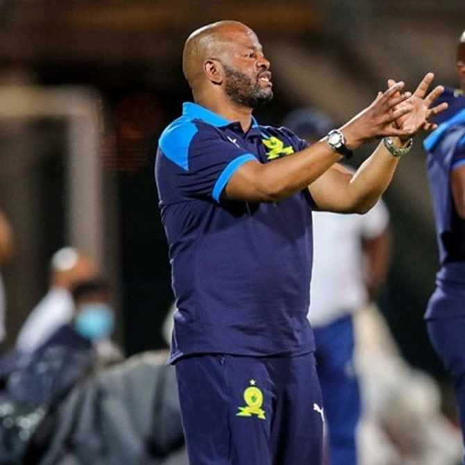 We lost to ourselves, bemoans Mamelodi Sundowns coach Manqoba Mngqithi