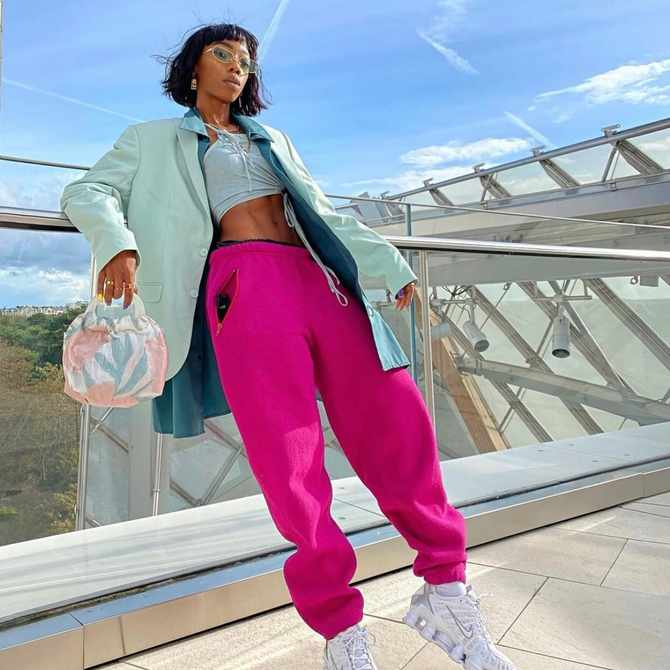 Togolese fashion designer Kim Anthony is the coolest girl in Paris