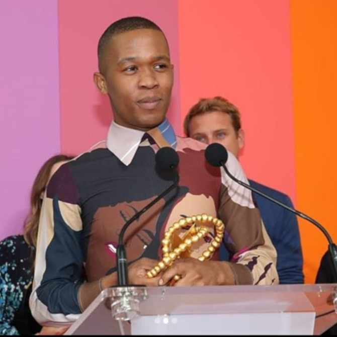 President Cyril Ramaphosa gives nod to Thebe Magugu's work, after amazing debut at Paris Fashion Week