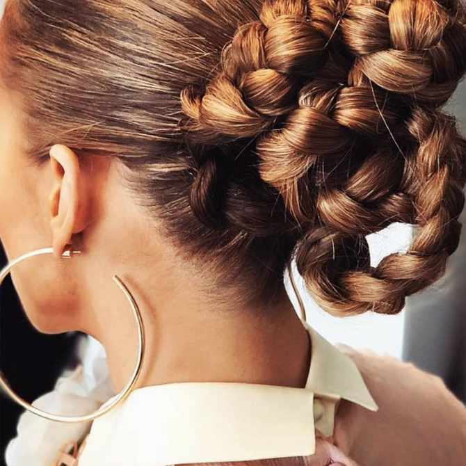 The best lust-worthy braids, plaits and twisted updos to master