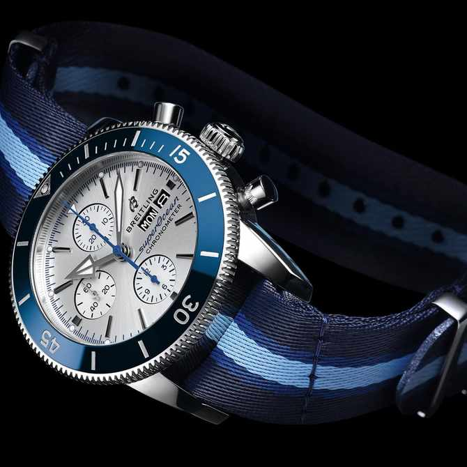 Breitling's newest Superocean heritage is a piece of luxury with a strong message behind it