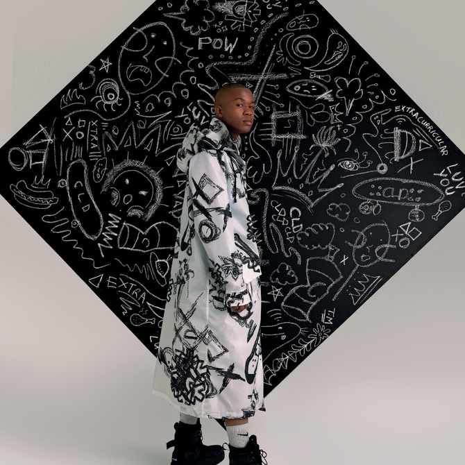WATCH: Thebe Magugu chats CLD x Extracurricular collection