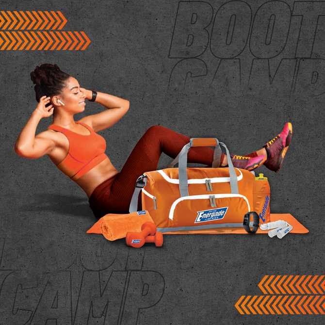 Get active and get your summer body back with Energade