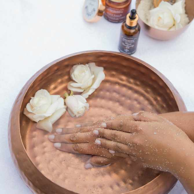 10 super easy mani and pedi steps for a special Mother's Day pamper session