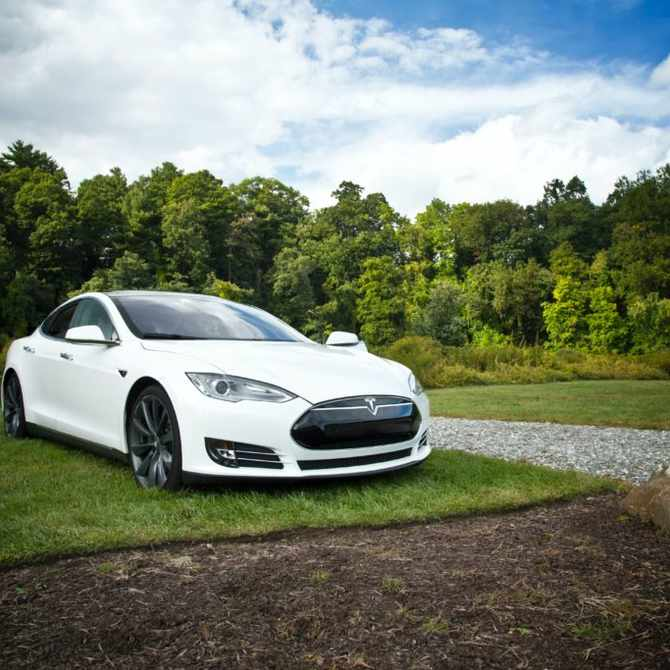 THE CELEB CAR OF CHOICE: Tesla 'model S' revealed as the car celebs drive the most