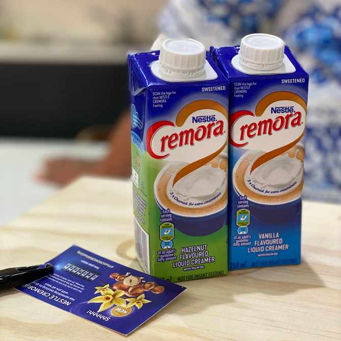 Win with GLAMOUR and NESTLÉ Cremora Liquid Creamers