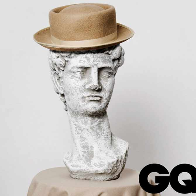 This handmade pork-pie hat has a story to tell