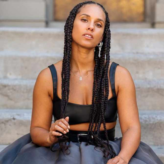 Alicia Keys 'feels royal' when she wears braids