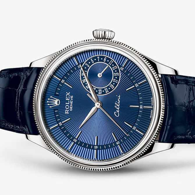 How to perfect the blue watch trend