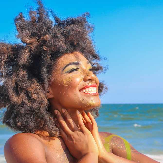 How to protect your hair while at the beach or in the pool