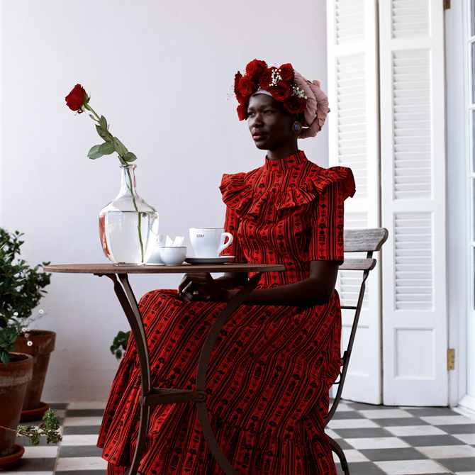 Sindiso Khumalo: 'Clothing is actually a form of armour for women'